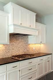 cobblestone france kitchen stone backsplash custom hood ridge