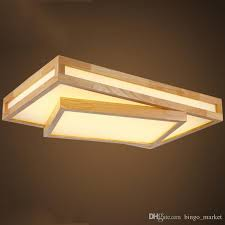 Modern Ceiling Light Fixture by Discount Modern Led Ceiling Lights Wood Lighting Plafoniere Kids