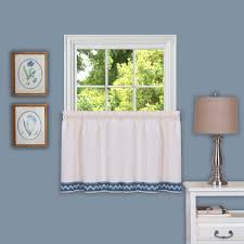 window elements semi opaque coffee talk embroidered 3 piece