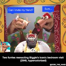 Biggie Meme - oobi the hand biggie s bedroom visit biggie cheese know your meme