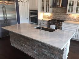 White Carrera Marble Kitchen Countertops - luxury countertops blog redesigning your kitchen