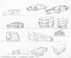 art of francis tsai vehicle sketches