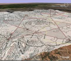 Sedona Map Ley Lines The Awakening