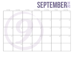 printable monthly planner september 2014 best photos of basic calendar to print 2012 12 month calendar