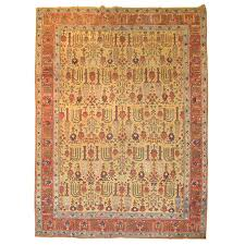 antique tabriz rug featuring willow tree motif at 1stdibs