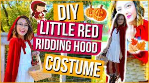 red riding hood halloween costumes diy little red riding hood halloween costume u0026 makeup mish