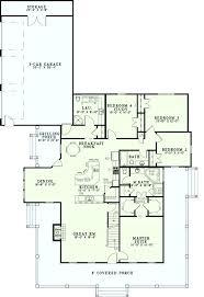 side split house plans farmhouse house plans makushina