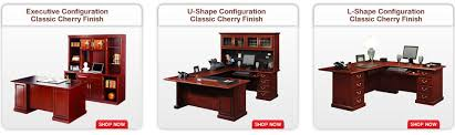Sauder Traditional L Shaped Desk Shop The Sauder Heritage Hill Furniture Collection At Office Depot
