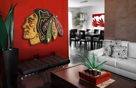 home decor wall pictures chicago blackhawks handmade distressed wood sign vintage art