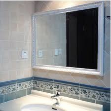 Lighted Bathroom Vanity Mirror Bathroom Vanity Wall Mirrors Mirror Lighted Intended For
