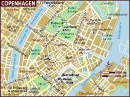 map of copenhagen map of copenhagen