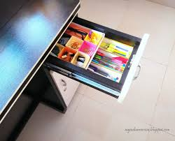 Organizing Desk Drawers My Indian Version Diy Office Supplies Stackable Drawer Organizer