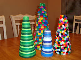 inspired whims homemade felt christmas trees