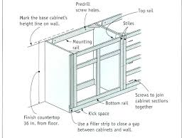 kitchen base cabinet height cabinet heights kitchen a beguiling model of cabinet heights