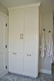 tall linen cabinet with doors best 25 bathroom ideas on pinterest
