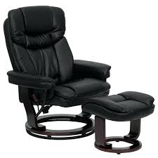 swivel recliner armchair black leather swivel reclining chair