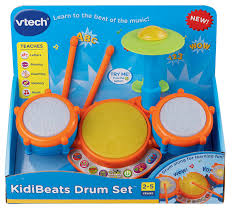amazon com vtech kidibeats drum set frustration free packaging