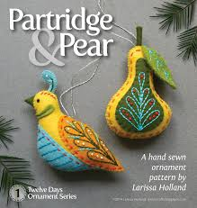 mmmcrafts partridge u0026 pear pattern is now available