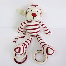Little Jellycat Comforter Jellycat Zoot Monkey Soother Red U0026 Cream Flat Comforter Blanket