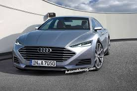 audi a7 models dive the 2017 audi a7 gets squeezed into a shape