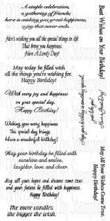birthday greetings a few of our inspired by stamping stamp sets