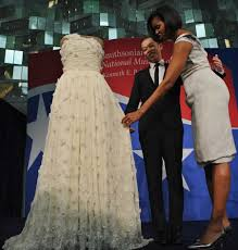 obama dresses obama inauguration dress smithsonian jason