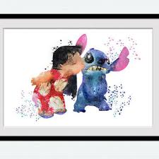shop lilo stitch art wanelo