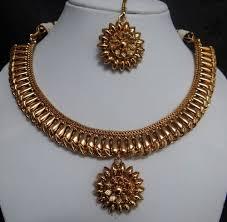 gold antique necklace set images Antique gold necklace set in mumbai antique gold necklace set jpg