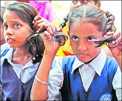 forced haircut stories parents protest as girls get a forced haircut indian express
