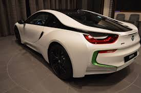 java green bmw bmw abu dhabi welcomes white u0026 java green i8