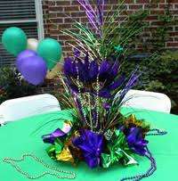 mardi gras centerpieces gras themed party mardi gras themed event