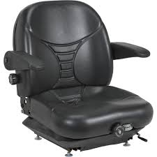 michigan seat highback suspension seat u2014 black model v 5300