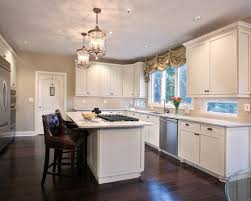 white kitchen cabinets wood floors pros cons of hardwood flooring in the kitchen