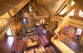 Log Cabin Home Interiors Log Cabin Style Living Room Loft Designs Bc Canada