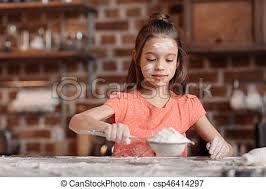 tamiser cuisine peu farine tamiser figure table cuisine