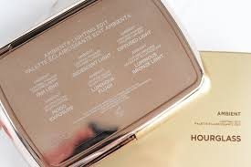 hourglass ambient lighting edit palette hourglass ambient lighting edit review swatches