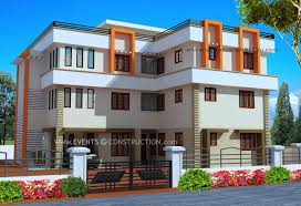 Square Meter To Square Feet by Evens Construction Pvt Ltd Three Storied Modern Luxury House