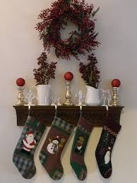 the stockings are hung organize and decorate everything