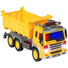 best choice products friction powered push and go toy dump truck const