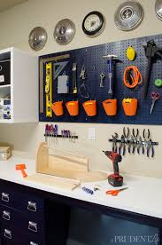 Tool Bench For Garage Garage Workbench Diy How We Ikea Hacked Garage Storage