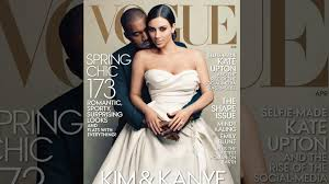 wedding dress kanye and kanye finally cover vogue and the