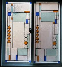 Home Windows Glass Design Frank Lloyd Wright Designs Stained Glass Window With A Frank