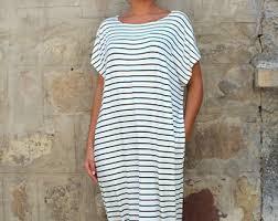 striped maxi dress etsy