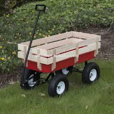 garde corps jardin bois wagon tout terrain tirant rouge w garde corps en bois enfants
