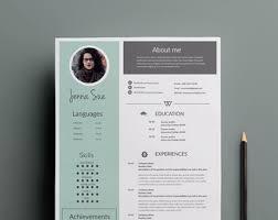 1 page resume template 1 page resume template cover letter template minimal design