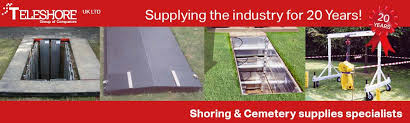 funeral supplies teleshore uk grave shoring funeral supplies crematorium