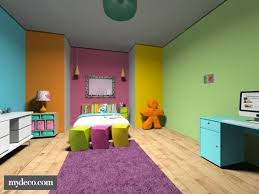 colored walls rainbow bedroom multi colored walls emily s bedroom pinterest