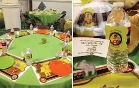 interesting safari baby shower table decorations 43 in ideas for