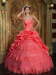 coral quince dresses coral quinceanera dresses dressed up girl