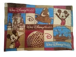 throw blanket walt disney world four parks throw